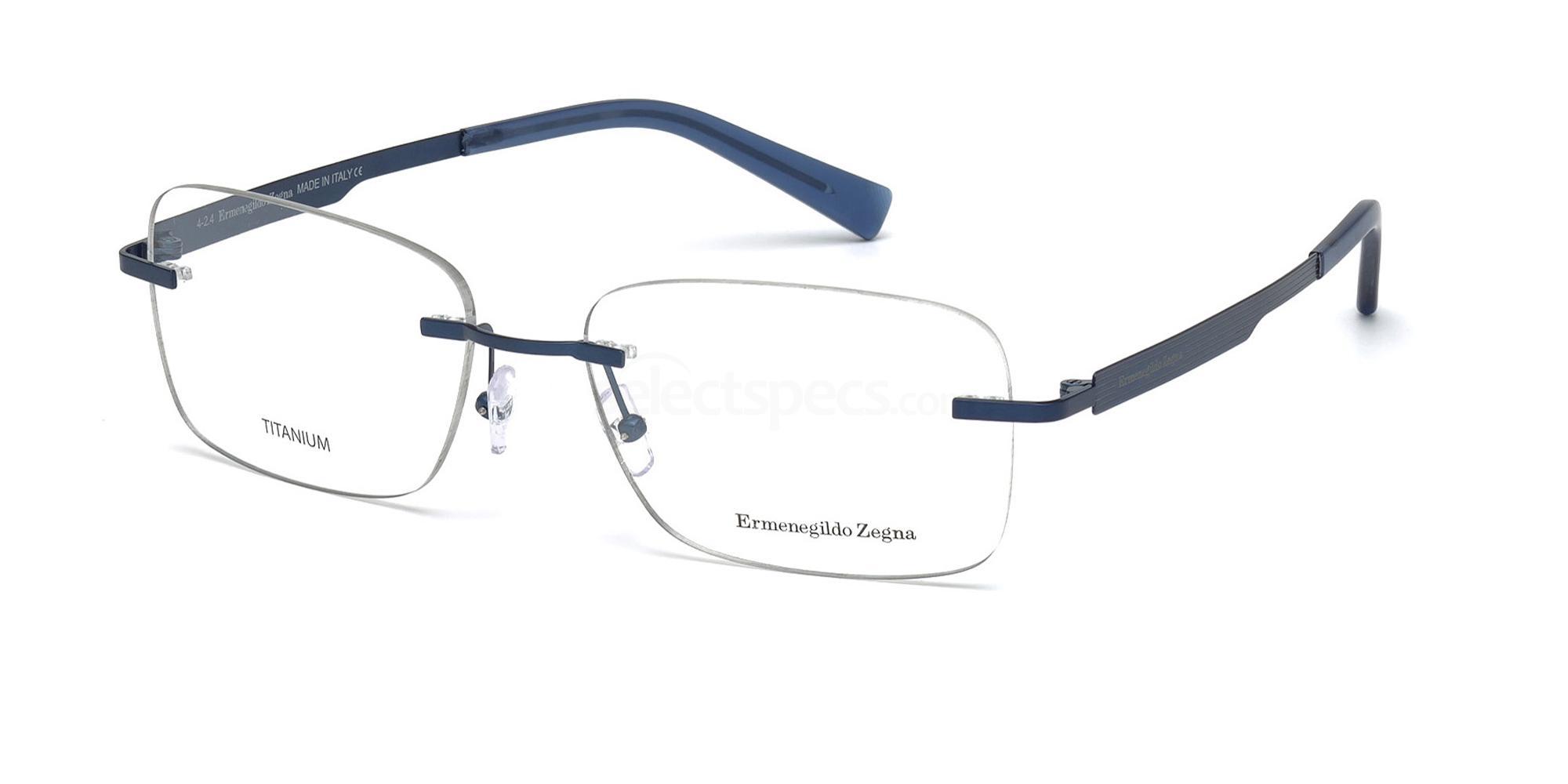 013 EZ5026 Glasses, Ermenegildo Zegna