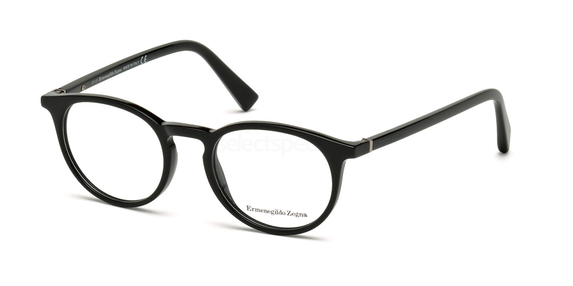 001 EZ5028 Glasses, Ermenegildo Zegna