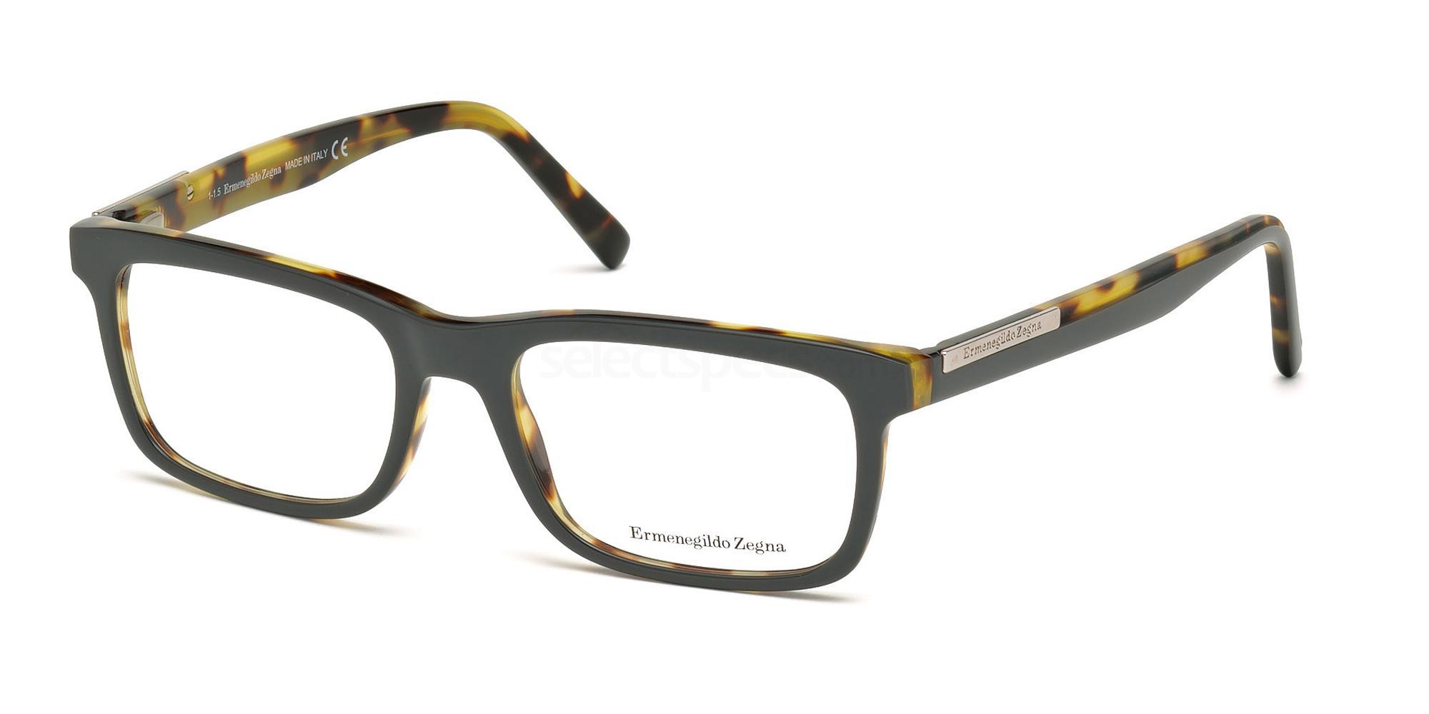 001 EZ5030 Glasses, Ermenegildo Zegna