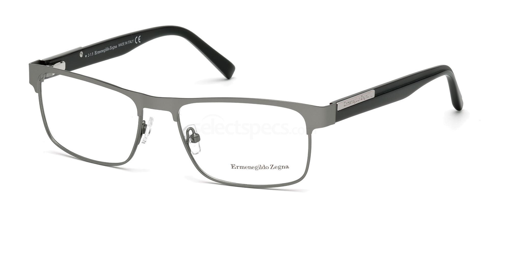 015 EZ5031 Glasses, Ermenegildo Zegna