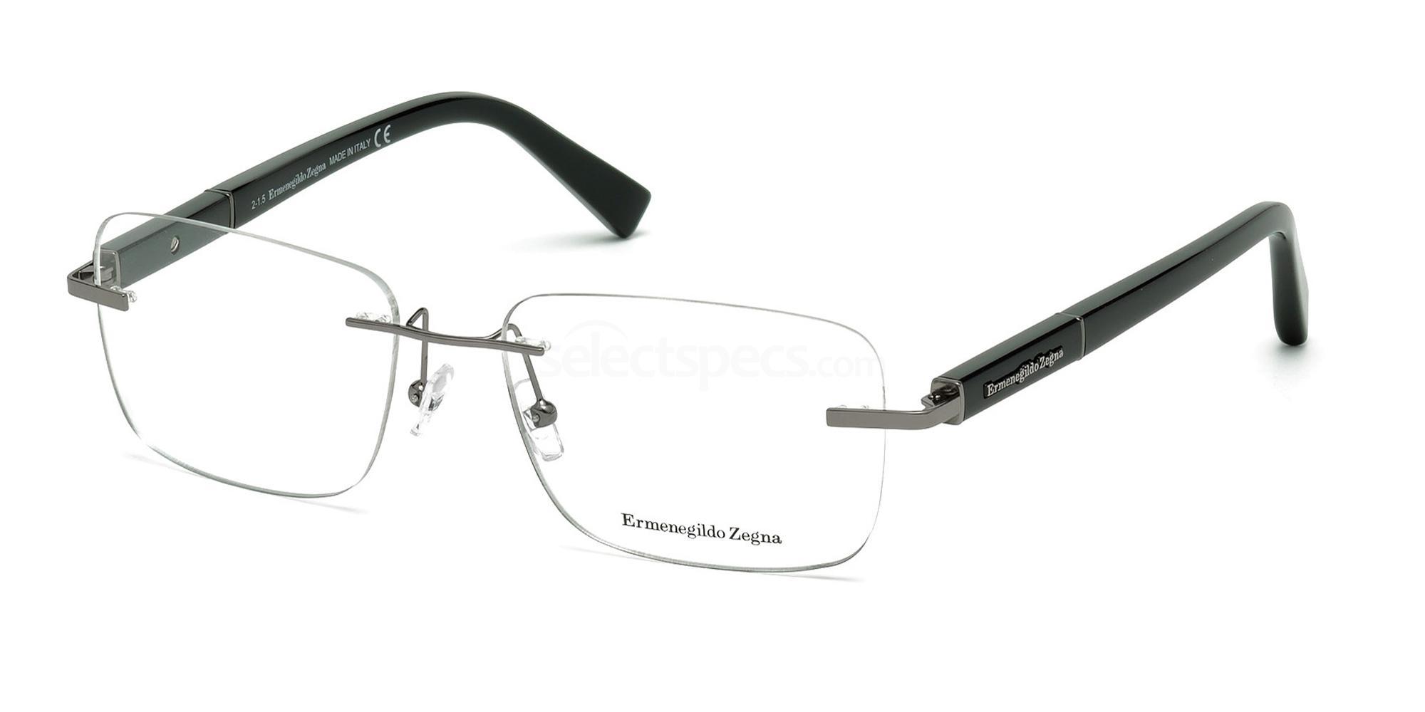 008 EZ5035 Glasses, Ermenegildo Zegna