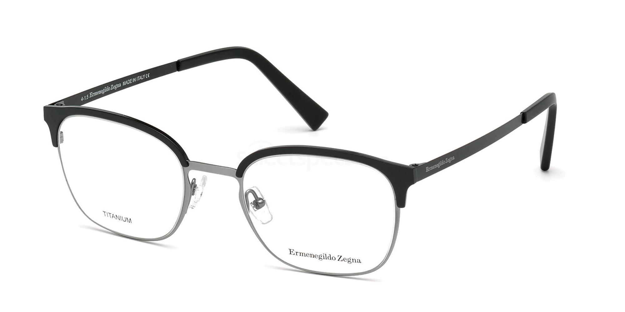 002 EZ5038 Glasses, Ermenegildo Zegna
