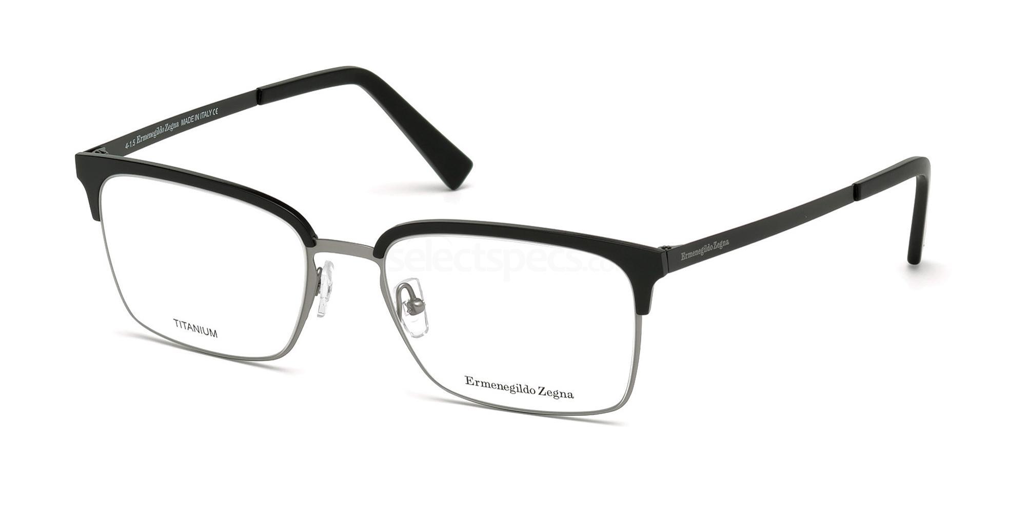 002 EZ5039 Glasses, Ermenegildo Zegna