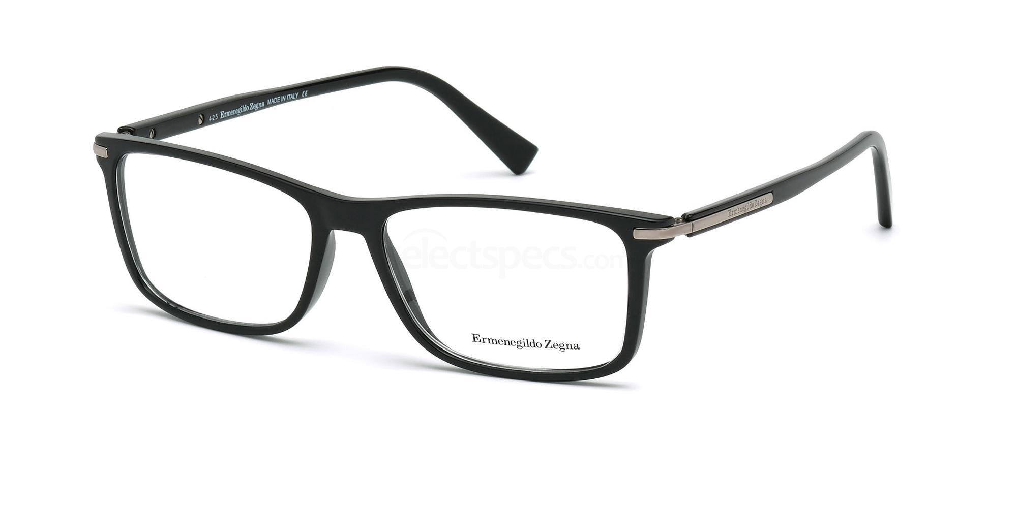 001 EZ5041 Glasses, Ermenegildo Zegna