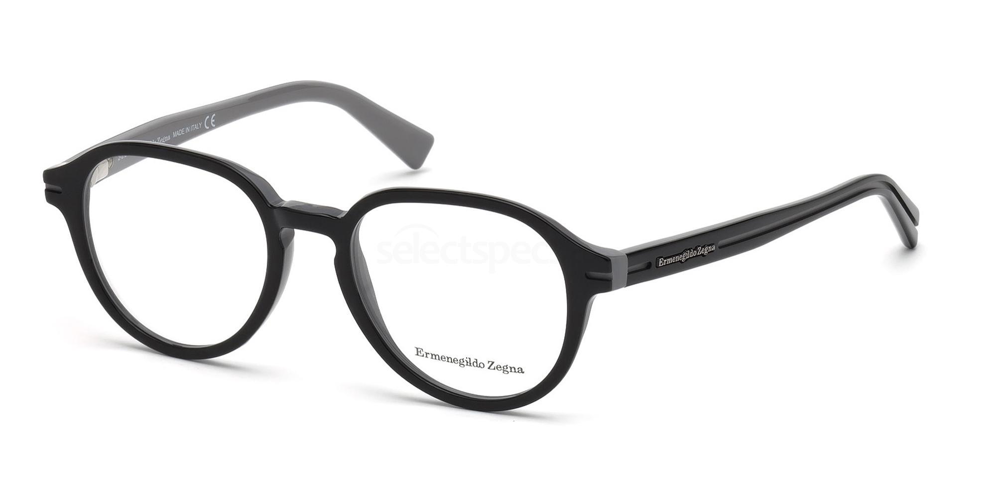 005 EZ5043 Glasses, Ermenegildo Zegna