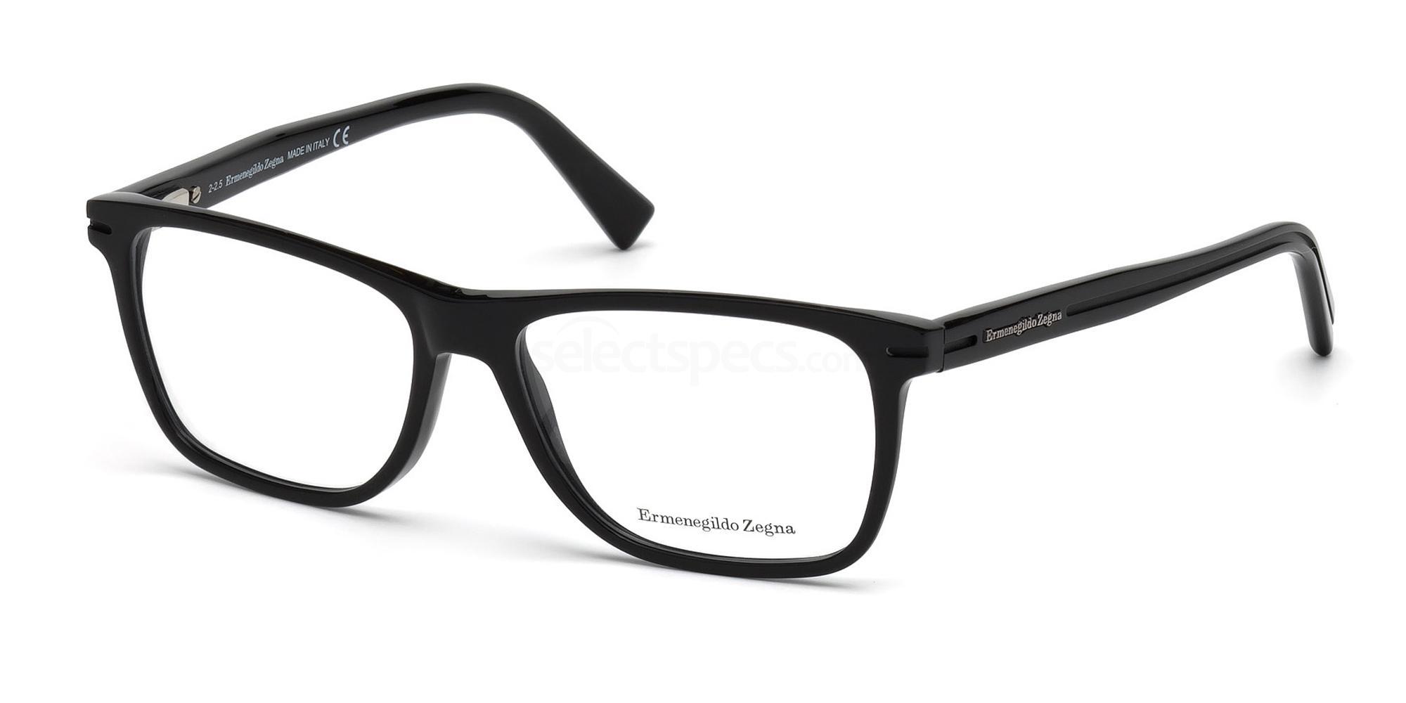 001 EZ5044 Glasses, Ermenegildo Zegna