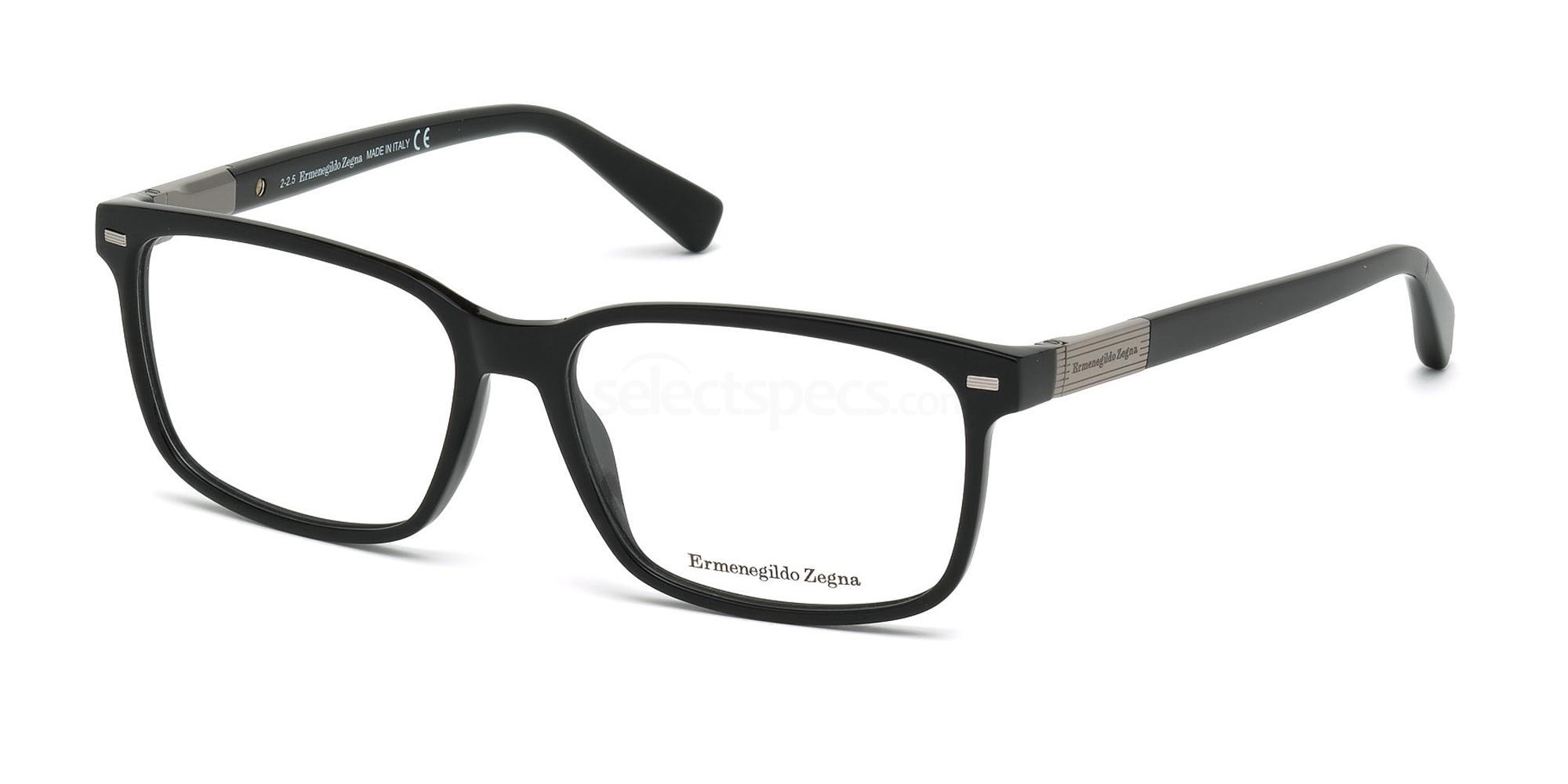 001 EZ5045 Glasses, Ermenegildo Zegna