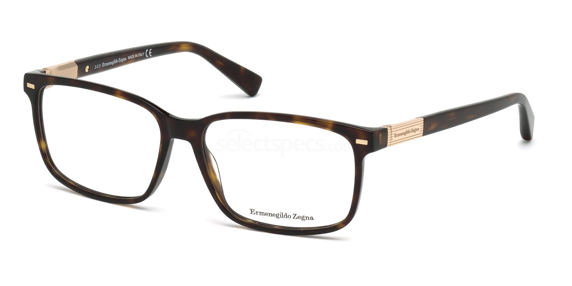 052 EZ5045 Glasses, Ermenegildo Zegna