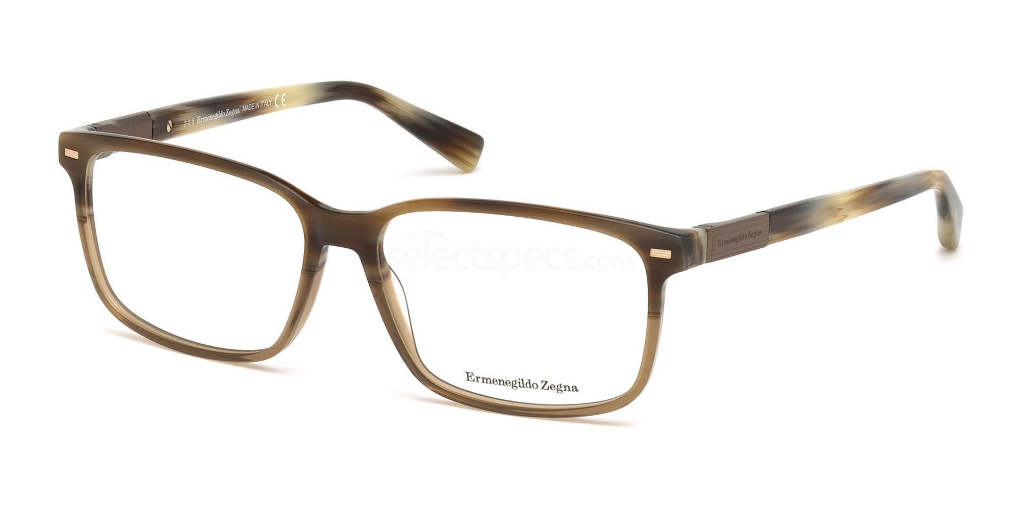 A62 EZ5045 Glasses, Ermenegildo Zegna