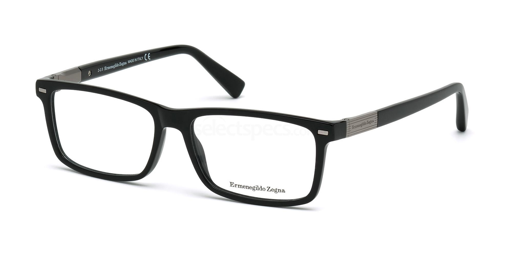 001 EZ5046 Glasses, Ermenegildo Zegna
