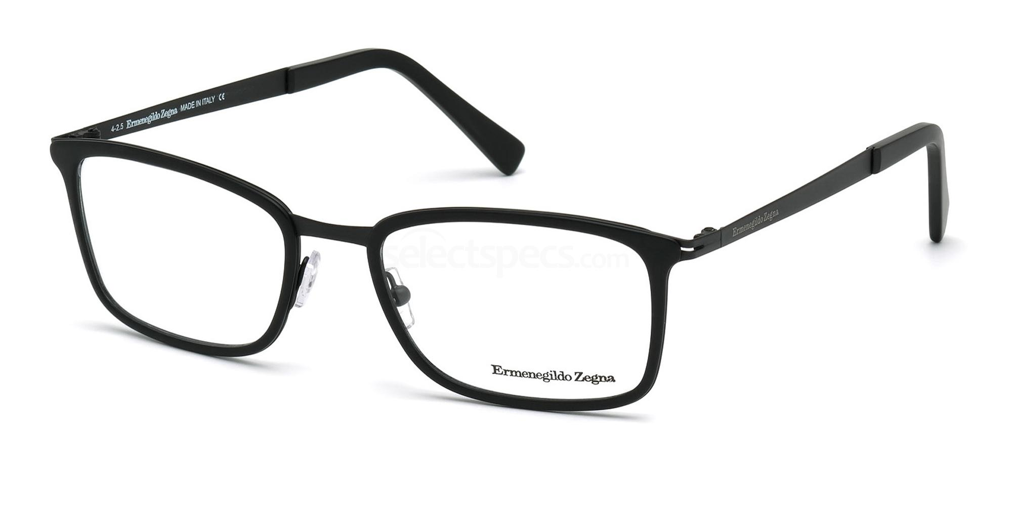 002 EZ5047 Glasses, Ermenegildo Zegna