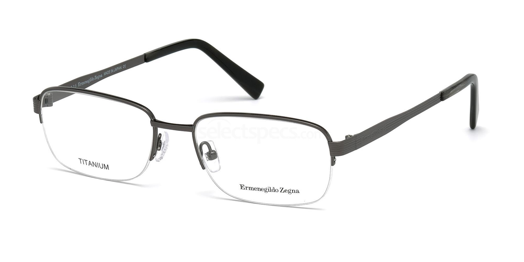 012 EZ5050 Glasses, Ermenegildo Zegna