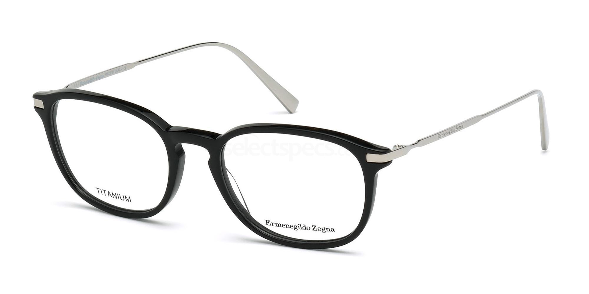 001 EZ5051 Glasses, Ermenegildo Zegna