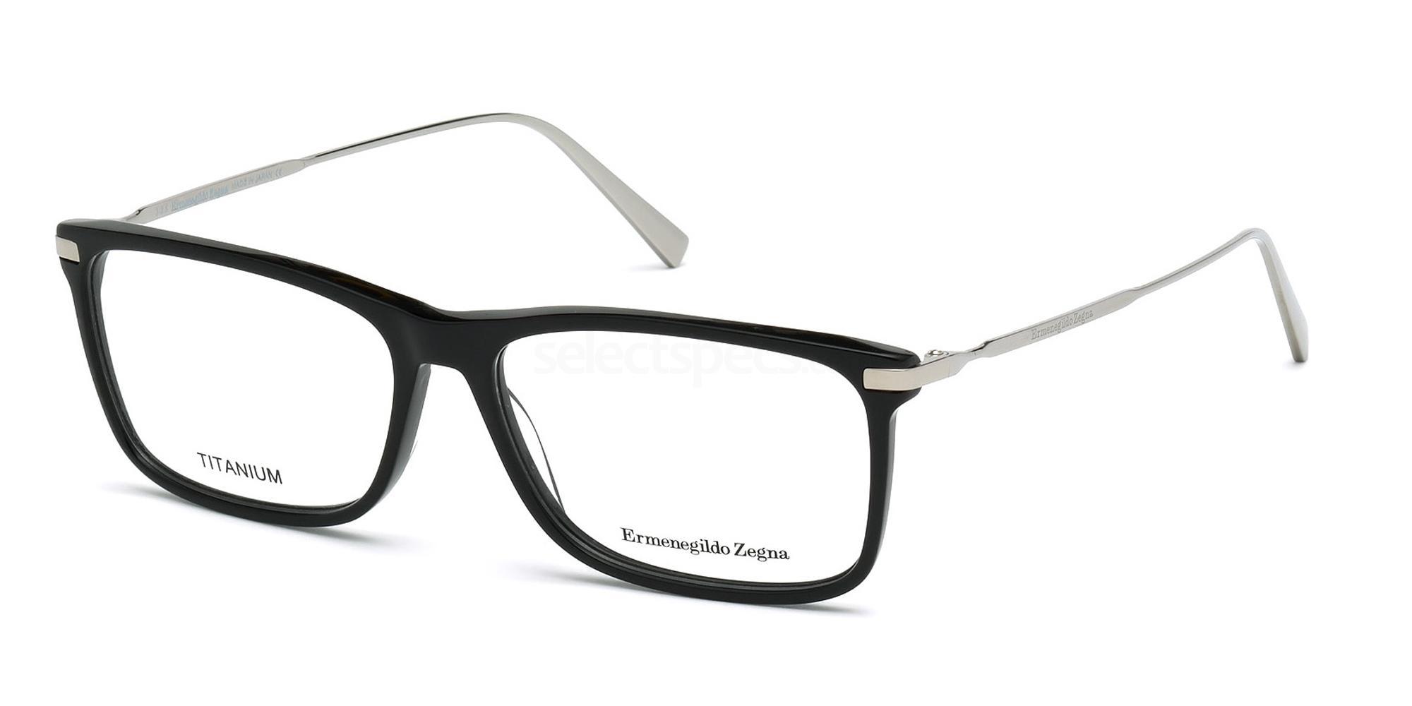 001 EZ5052 Glasses, Ermenegildo Zegna