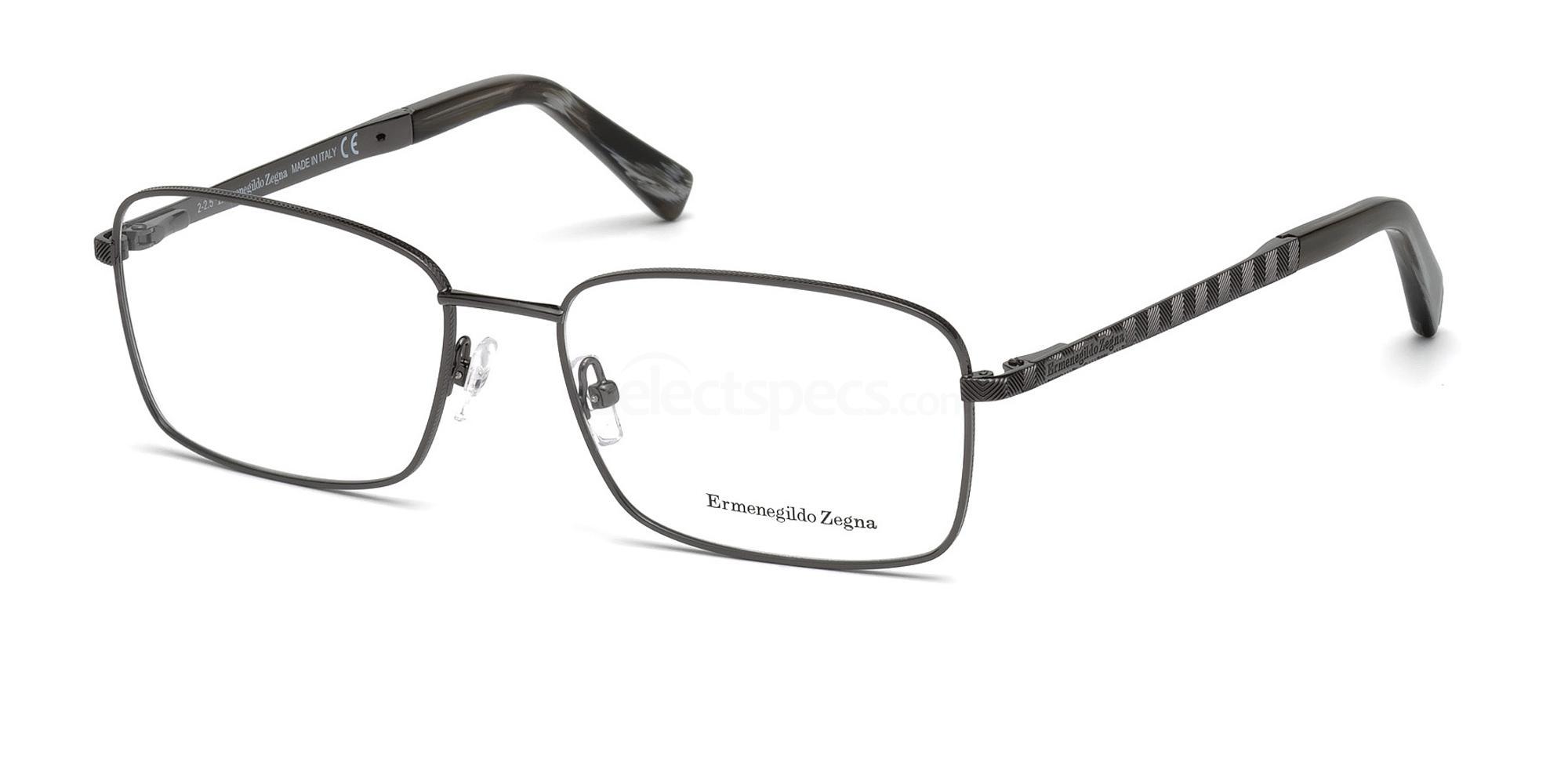 008 EZ5059 Glasses, Ermenegildo Zegna