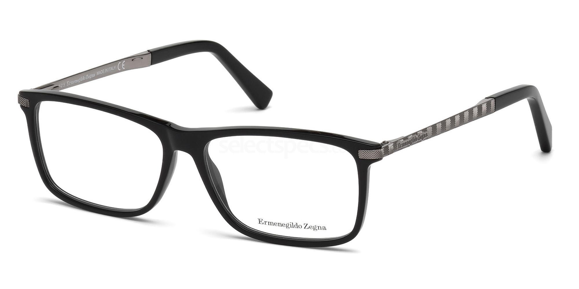 001 EZ5060 Glasses, Ermenegildo Zegna