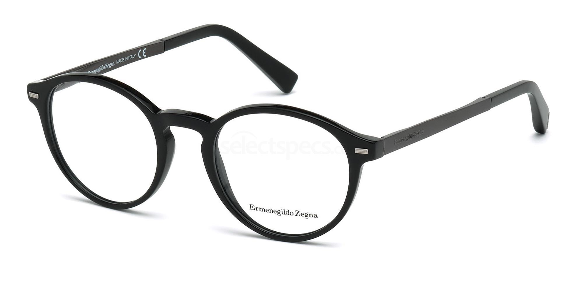 005 EZ5061 Glasses, Ermenegildo Zegna