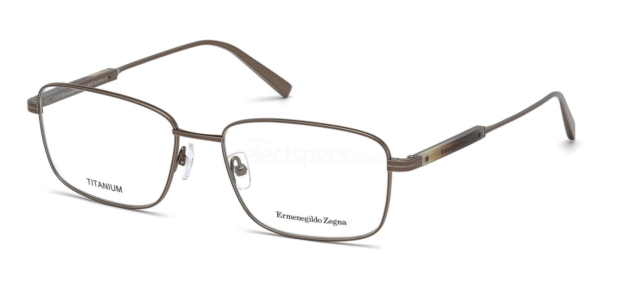 034 EZ5063 Glasses, Ermenegildo Zegna