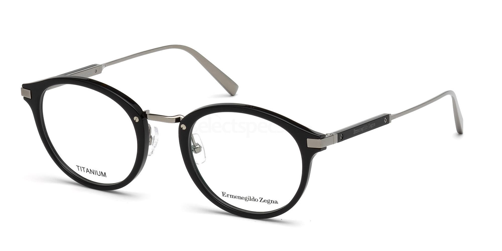 001 EZ5064 Glasses, Ermenegildo Zegna