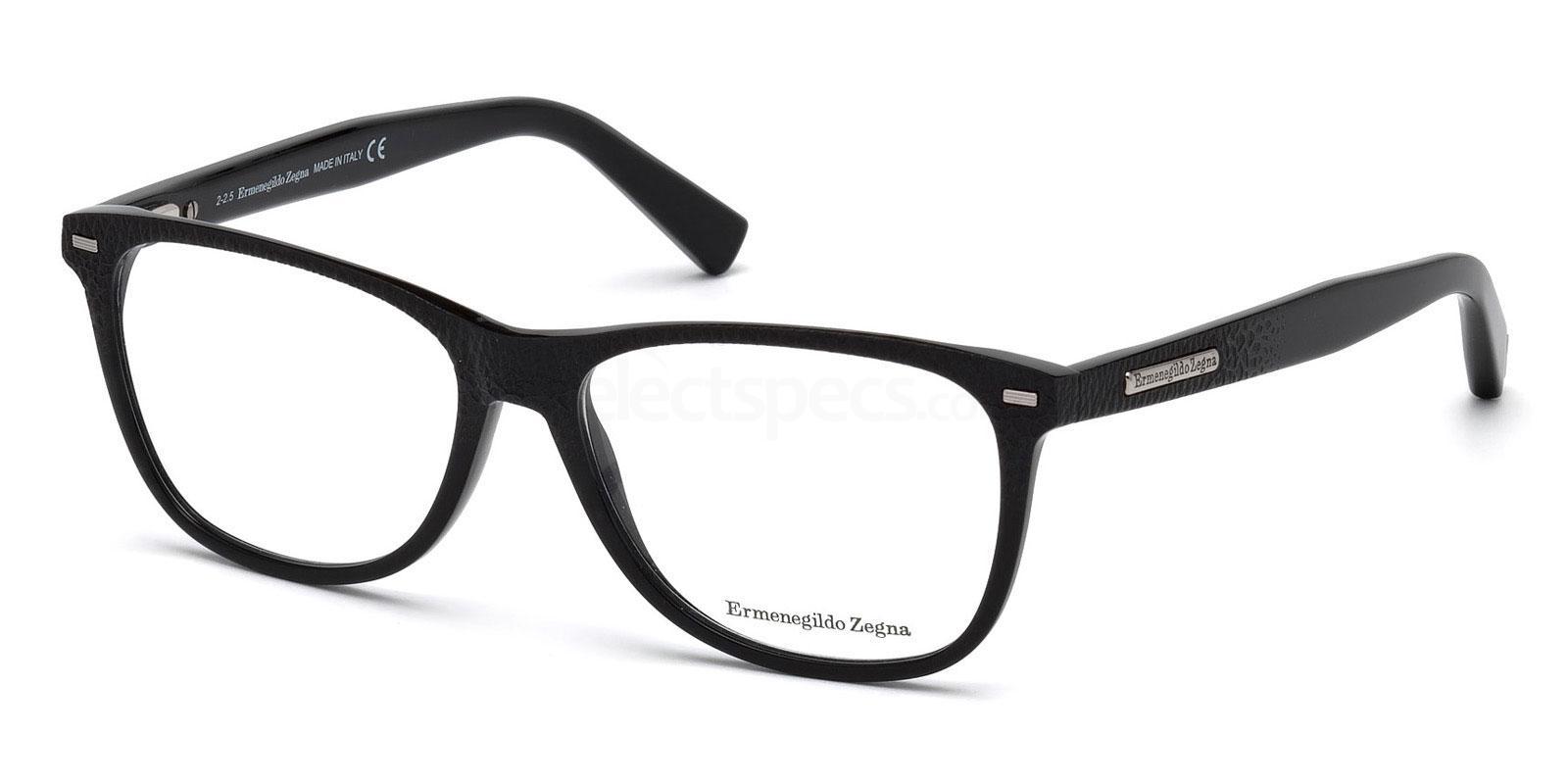 001 EZ5055 Glasses, Ermenegildo Zegna