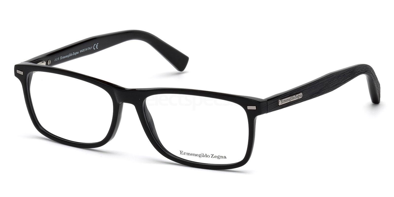 001 EZ5056 Glasses, Ermenegildo Zegna