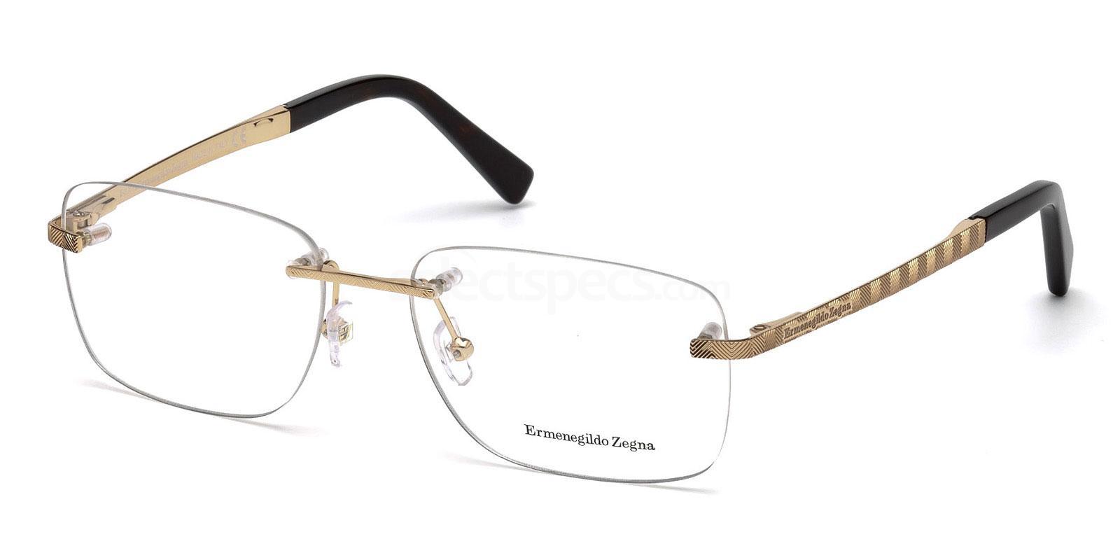 028 EZ5058 Glasses, Ermenegildo Zegna