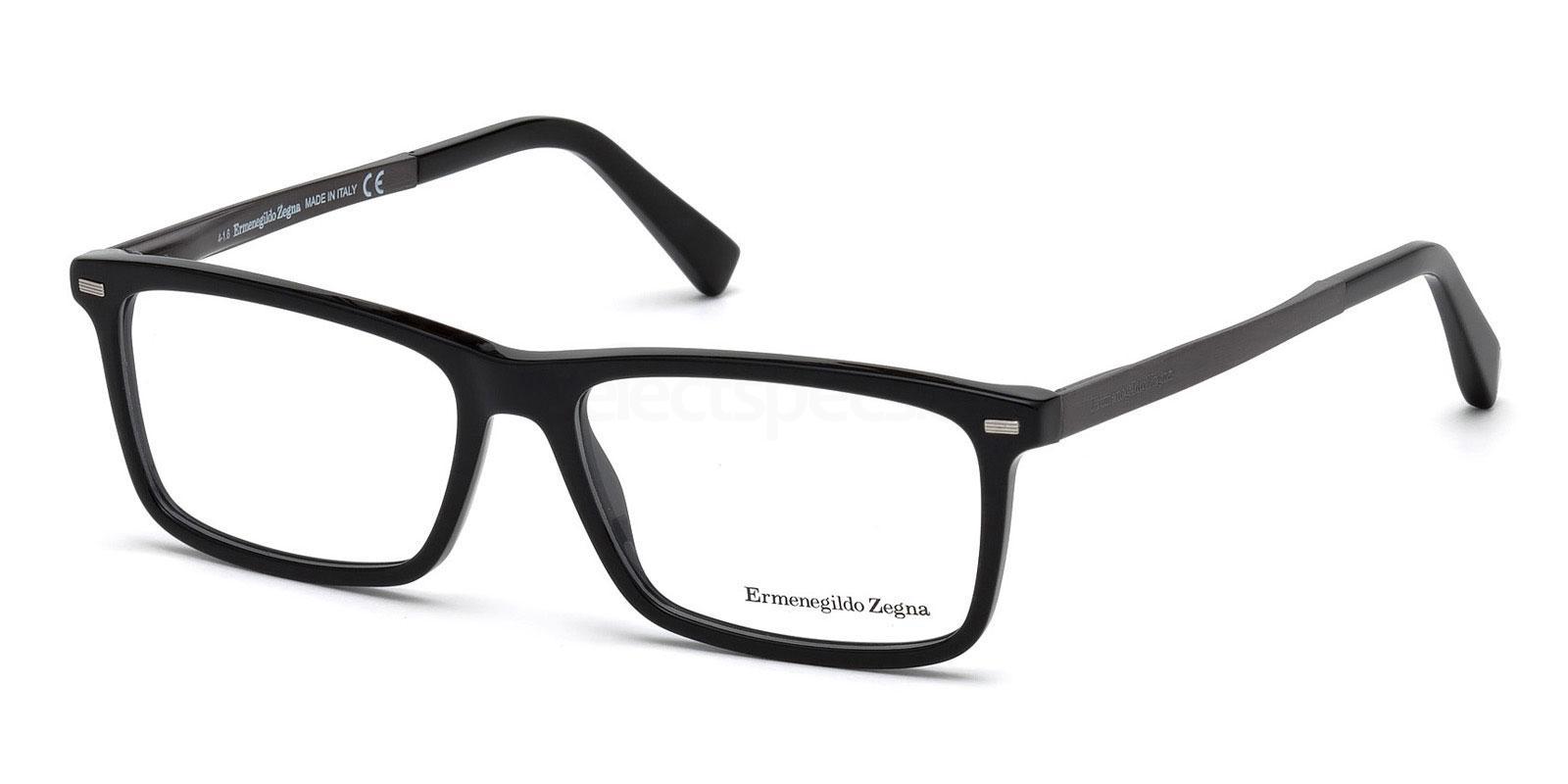 001 EZ5074 Glasses, Ermenegildo Zegna