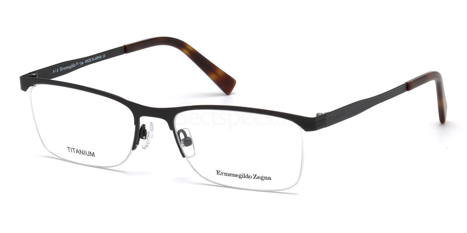 005 EZ5079 Glasses, Ermenegildo Zegna