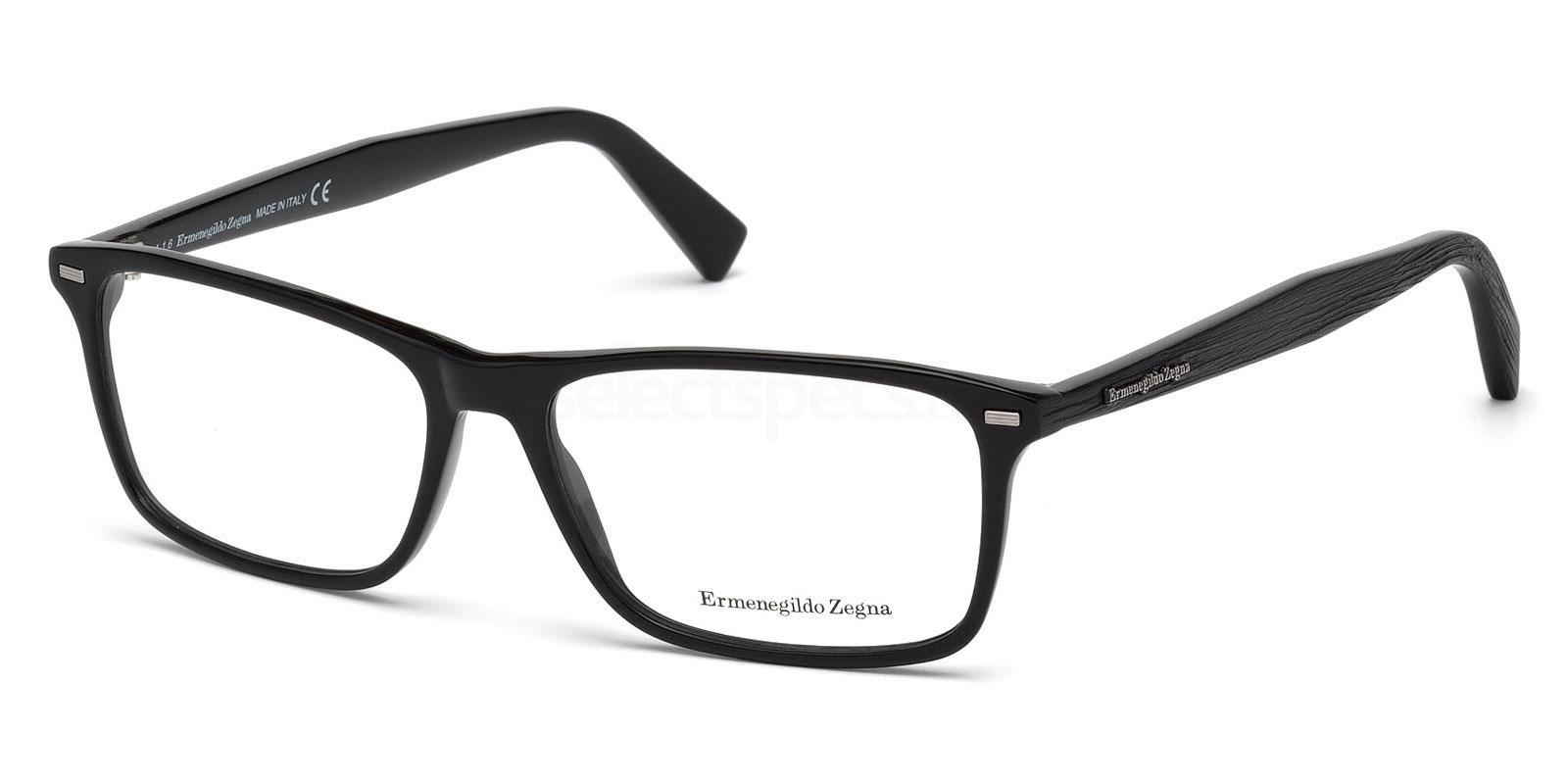 001 EZ5069 Glasses, Ermenegildo Zegna
