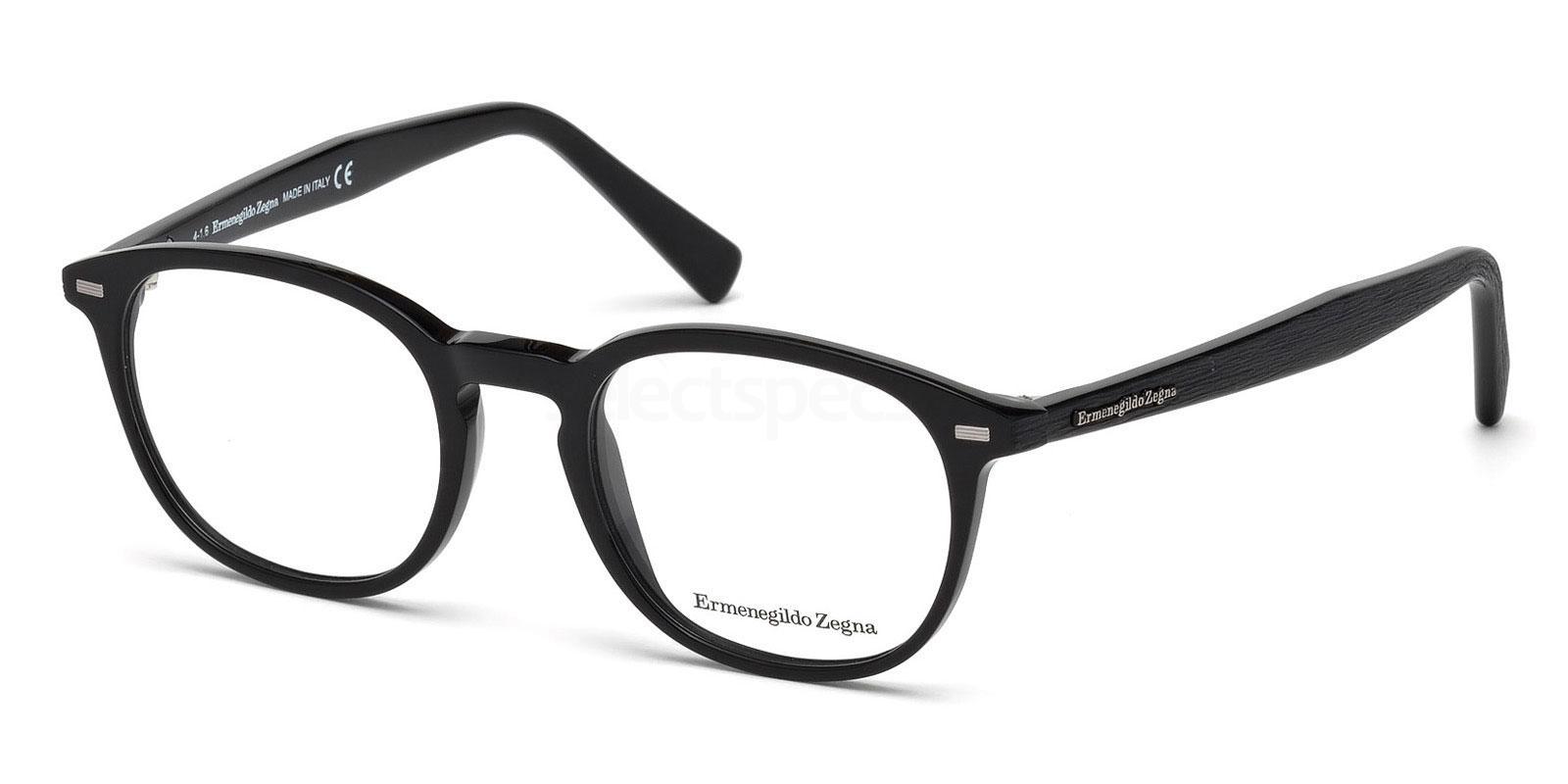 005 EZ5070 Glasses, Ermenegildo Zegna