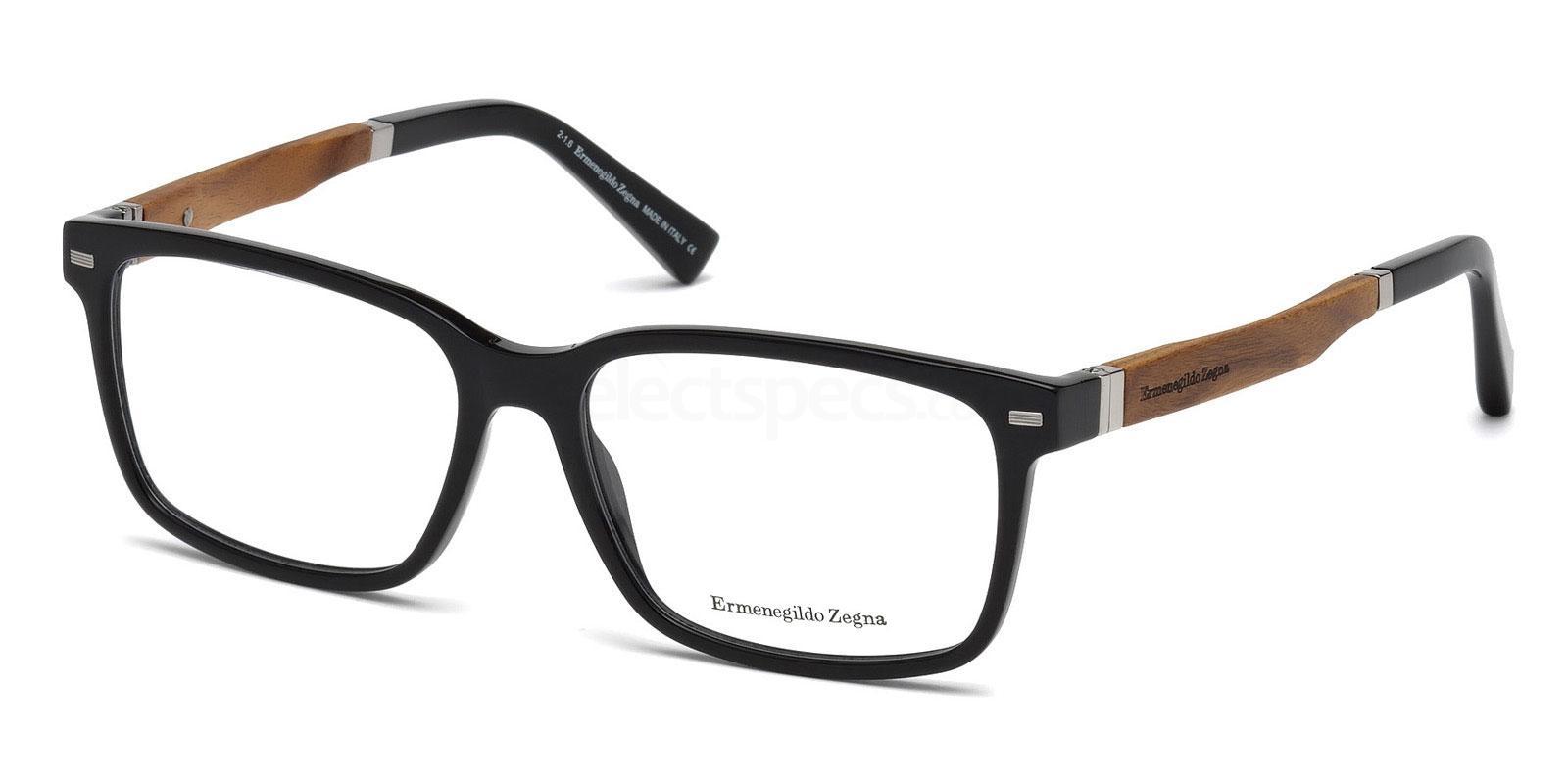 001 EZ5078 Glasses, Ermenegildo Zegna