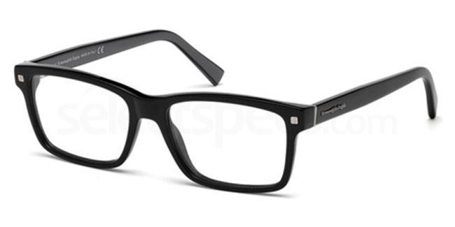 001 EZ5098 Glasses, Ermenegildo Zegna