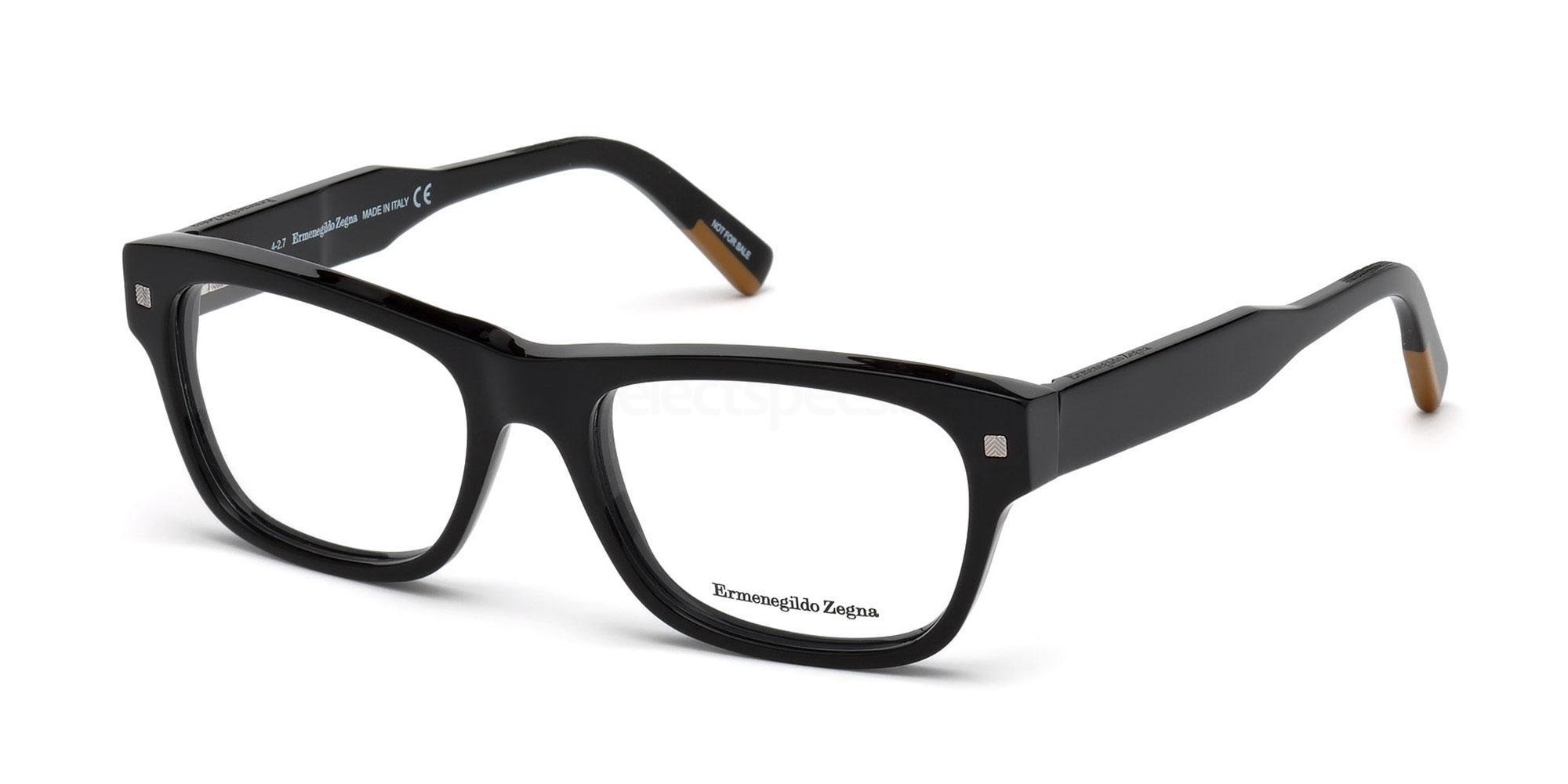 001 EZ5126 Glasses, Ermenegildo Zegna