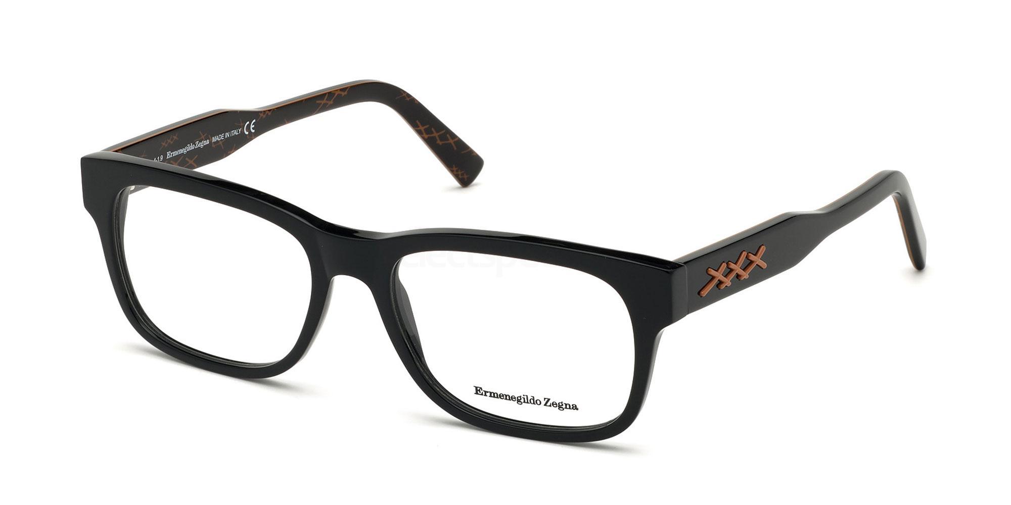 001 EZ5173 Glasses, Ermenegildo Zegna