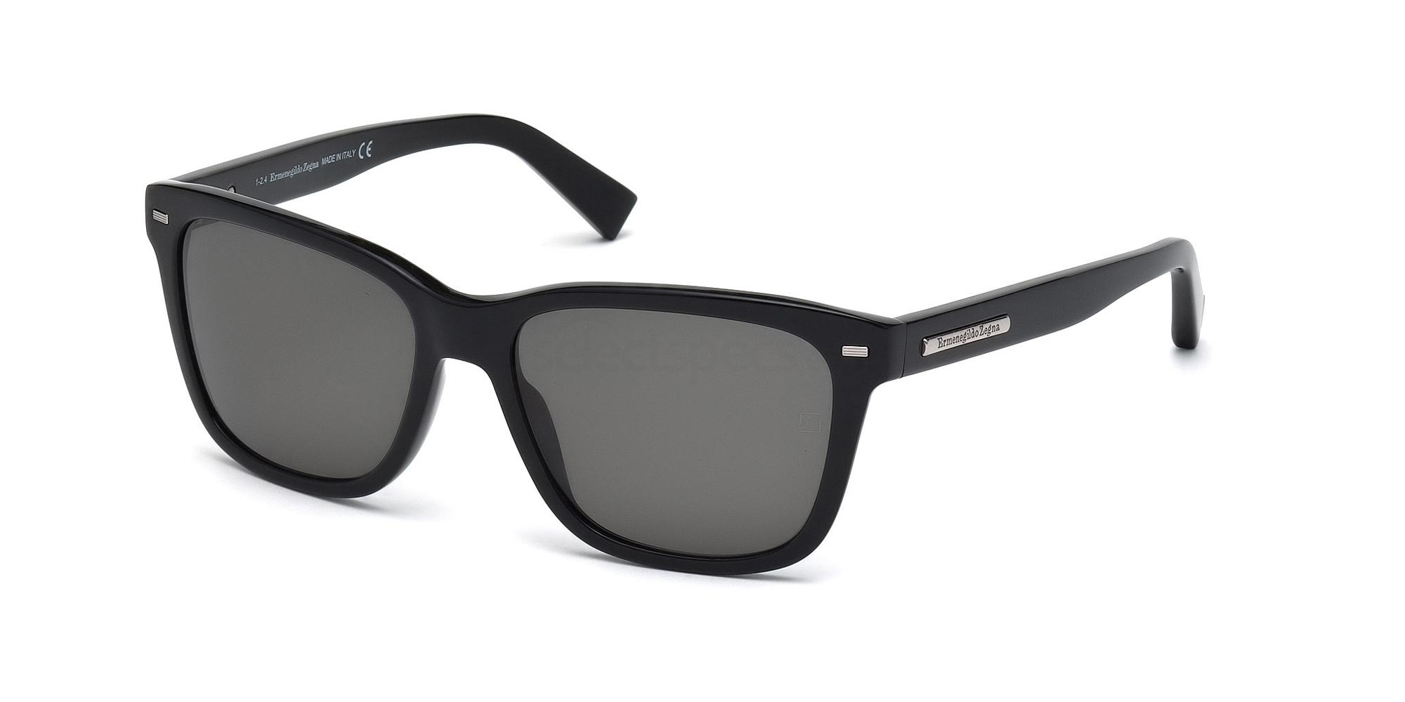 01D EZ0002 Sunglasses, Ermenegildo Zegna
