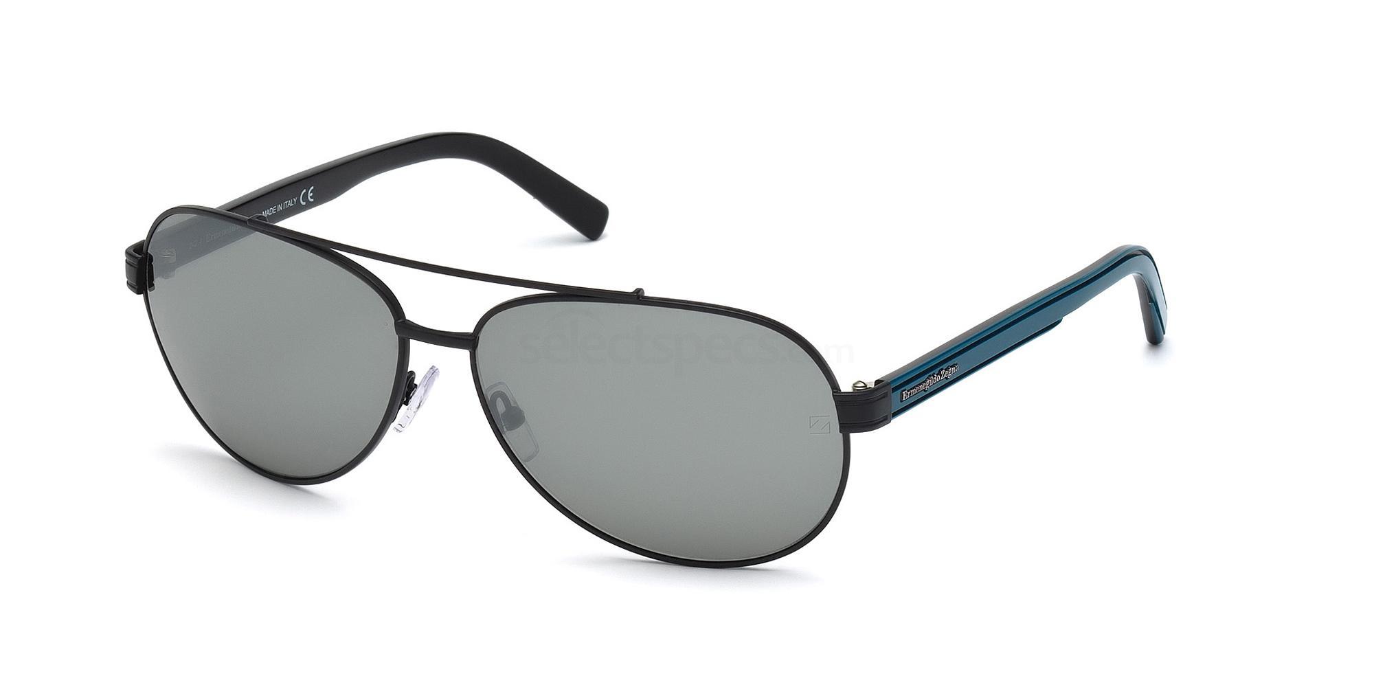 02A EZ0004 Sunglasses, Ermenegildo Zegna