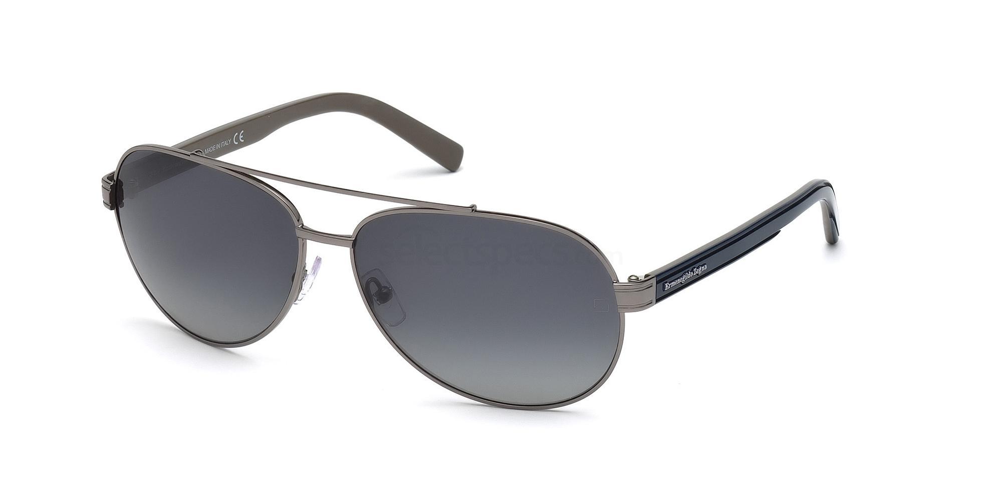 08D EZ0004 Sunglasses, Ermenegildo Zegna
