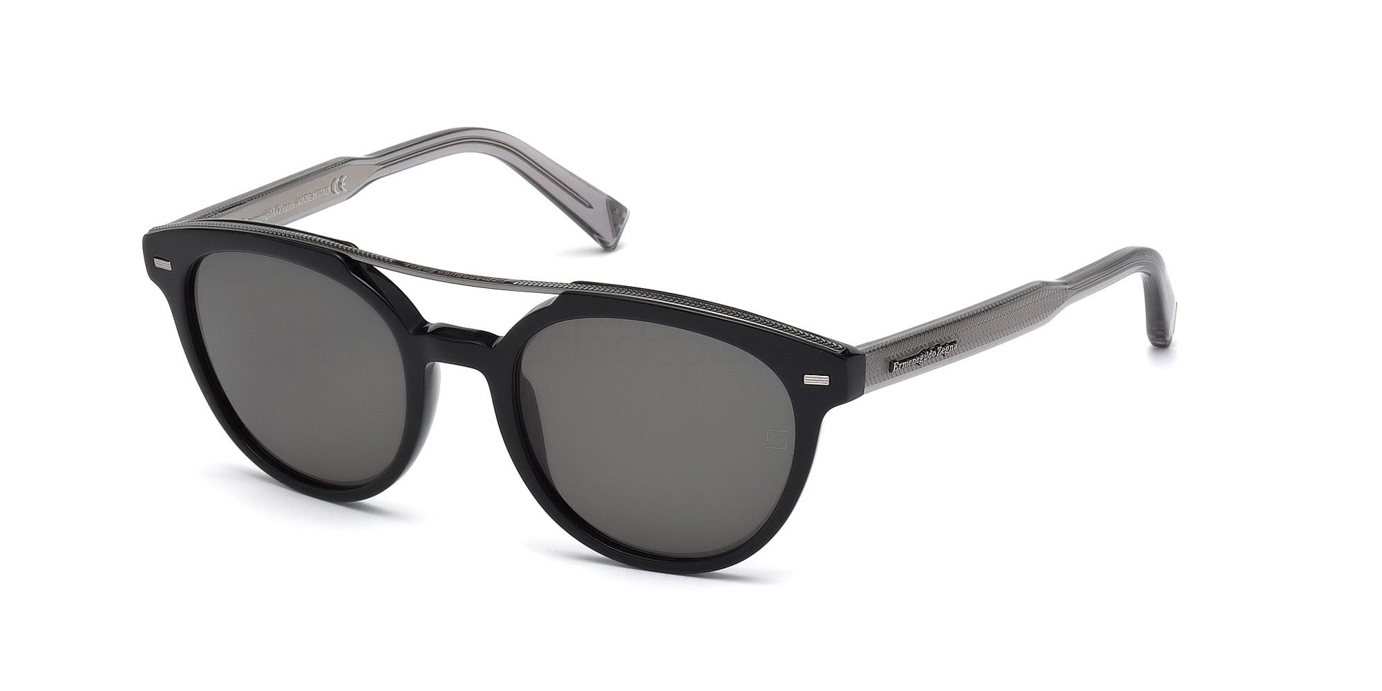 05D EZ0006 Sunglasses, Ermenegildo Zegna