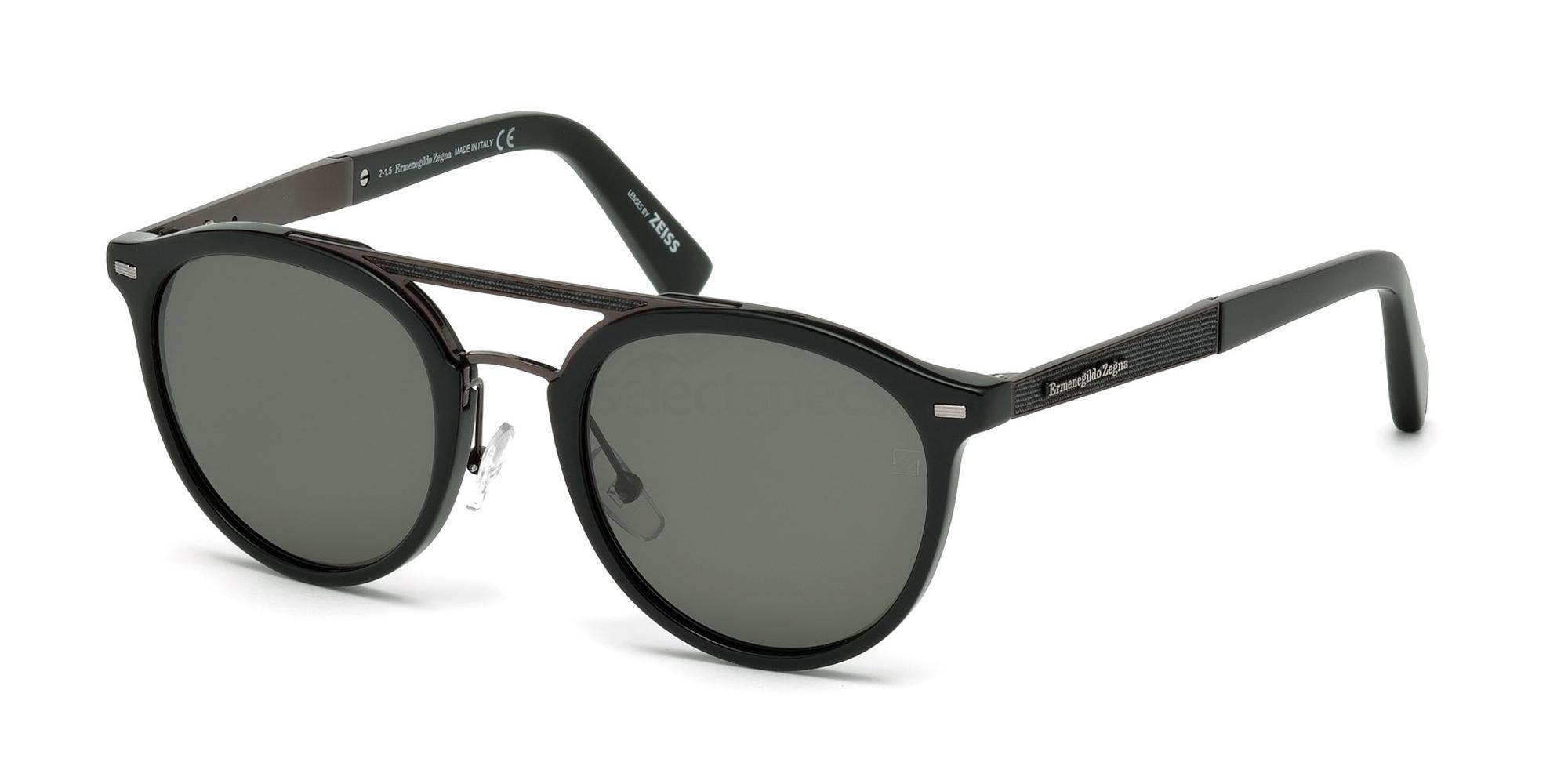 01D EZ0022 Sunglasses, Ermenegildo Zegna