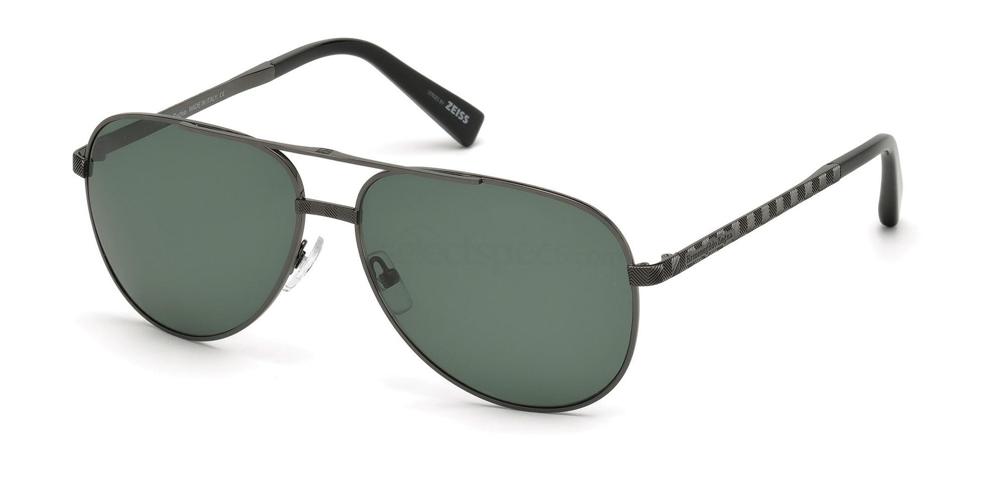 09R EZ0027 Sunglasses, Ermenegildo Zegna