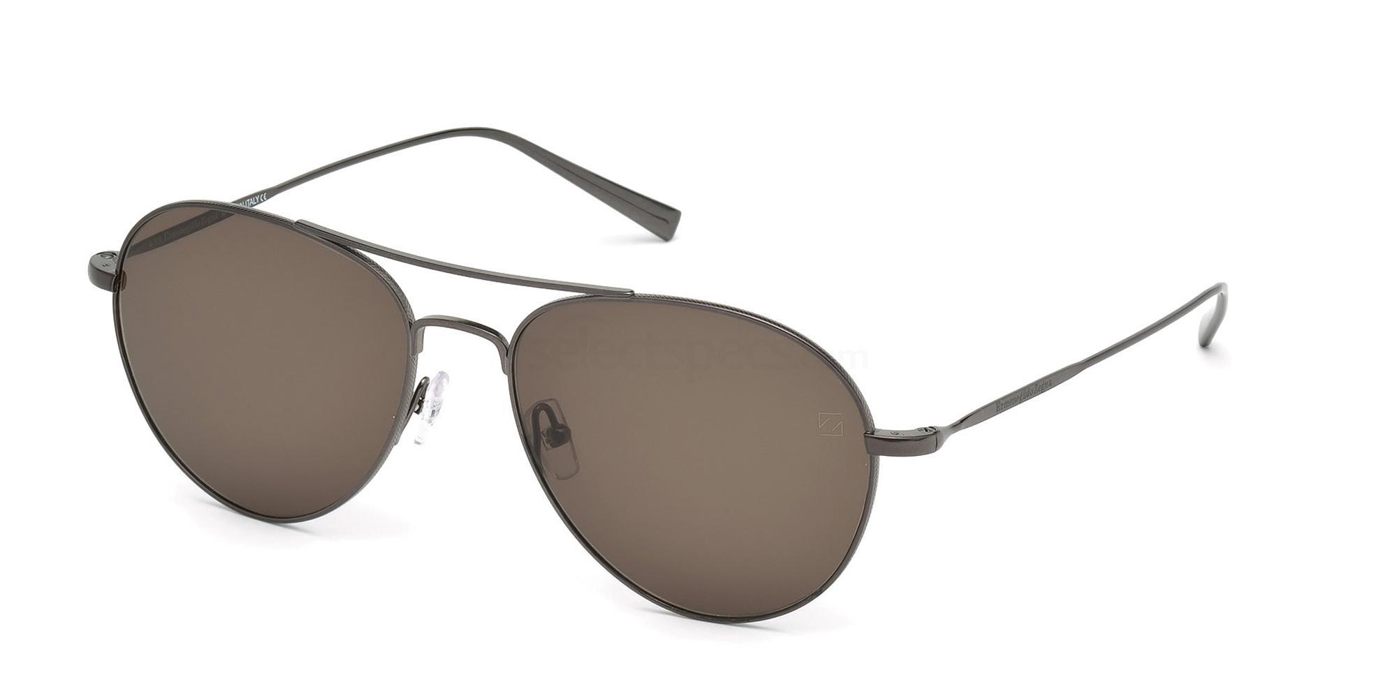 08J EZ0033 Sunglasses, Ermenegildo Zegna