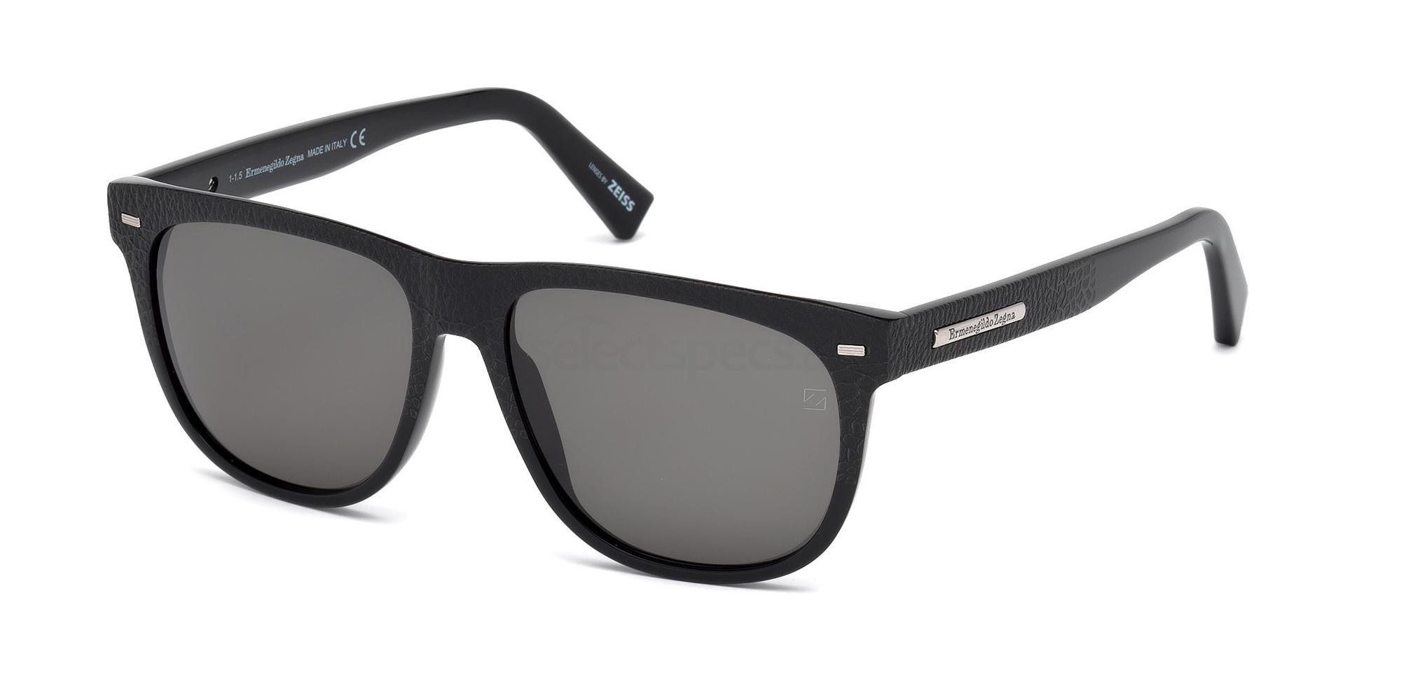 01A EZ0034 Sunglasses, Ermenegildo Zegna
