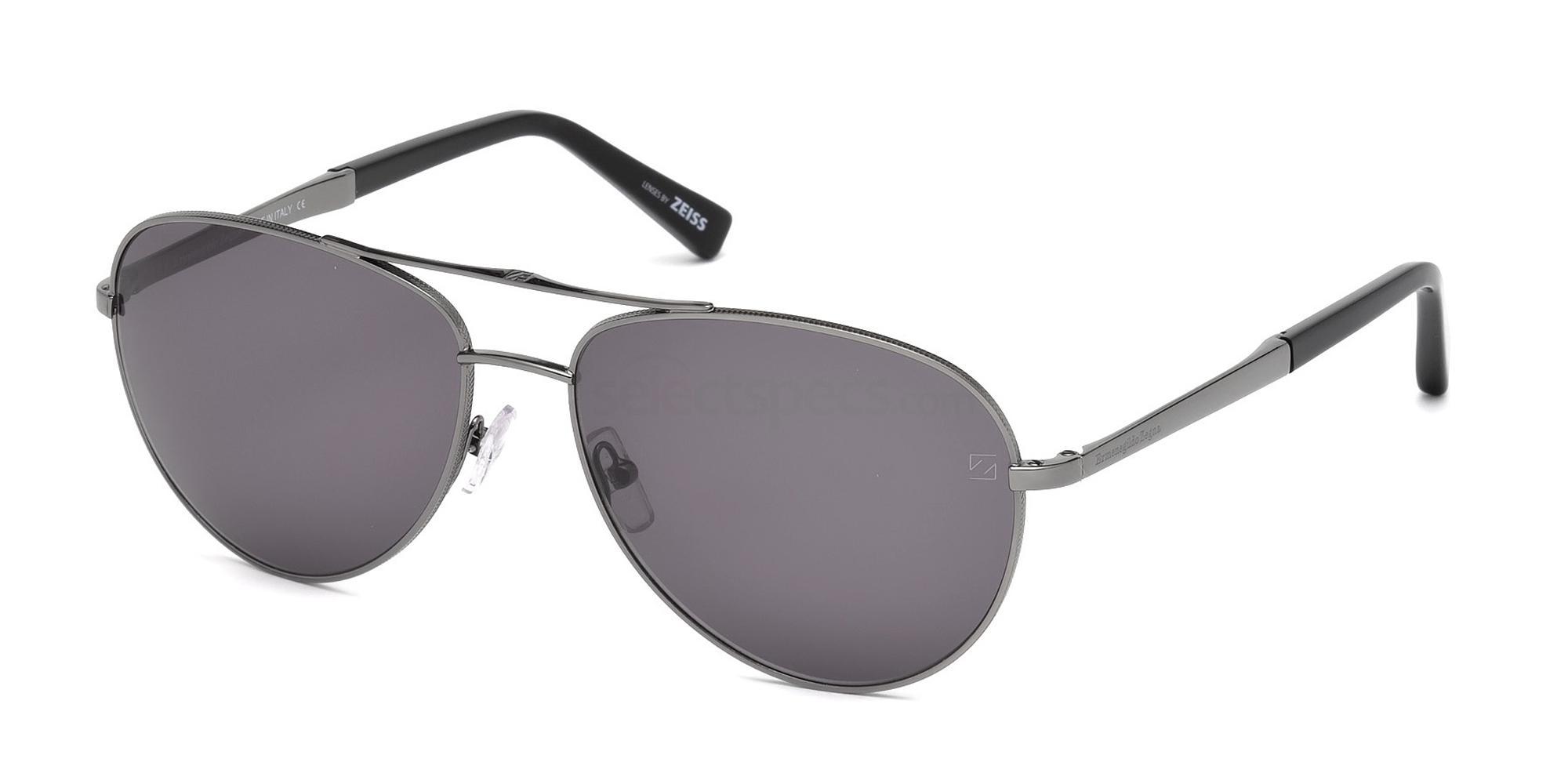 12A EZ0035 Sunglasses, Ermenegildo Zegna