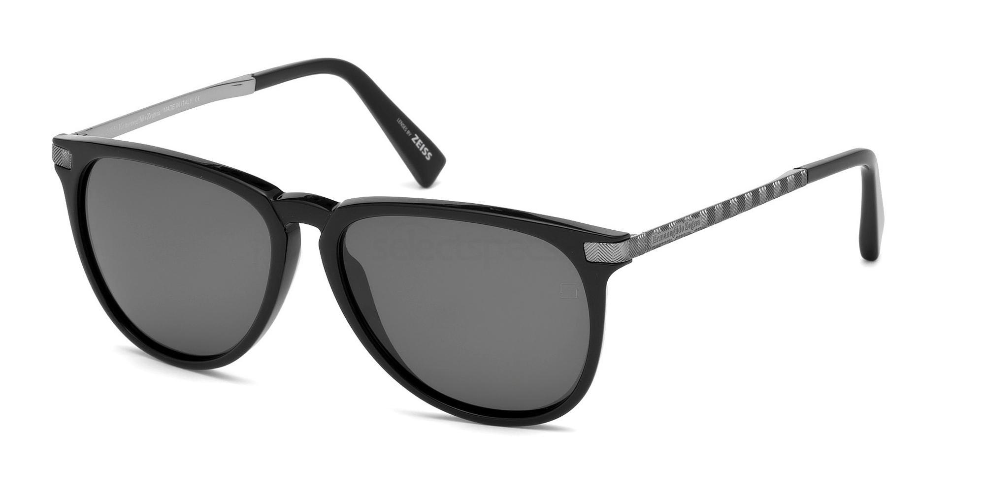01D EZ0038 Sunglasses, Ermenegildo Zegna