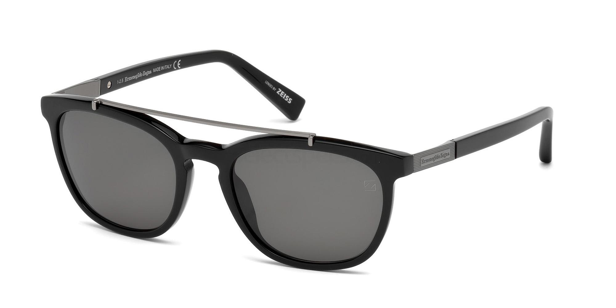 01D EZ0044 Sunglasses, Ermenegildo Zegna
