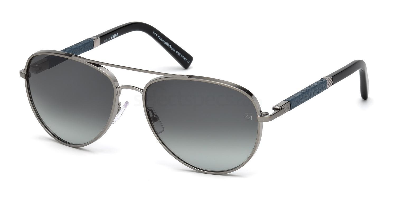 34F EZ0066 Sunglasses, Ermenegildo Zegna