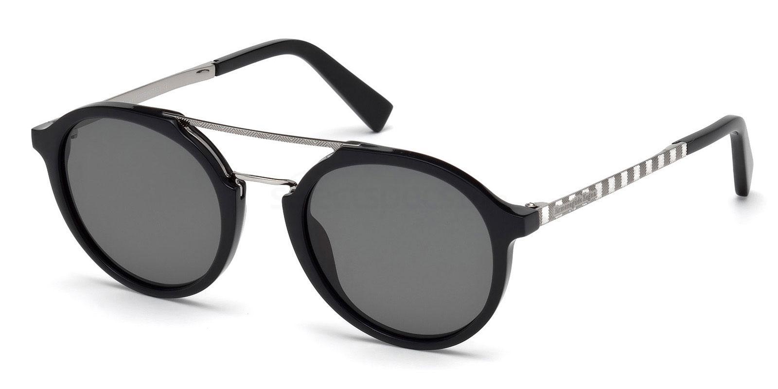 01A EZ0070 Sunglasses, Ermenegildo Zegna