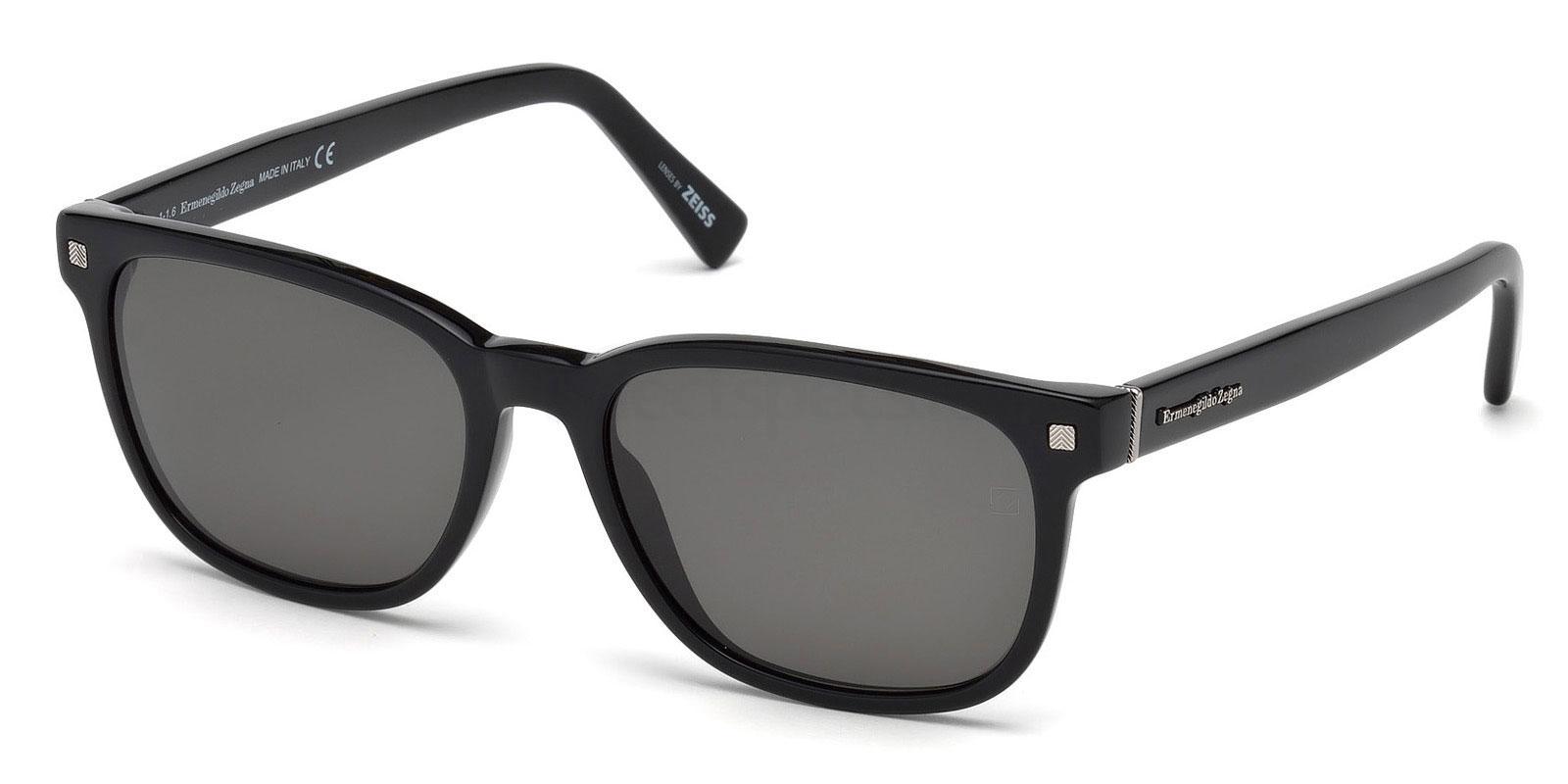 01D EZ0075 Sunglasses, Ermenegildo Zegna