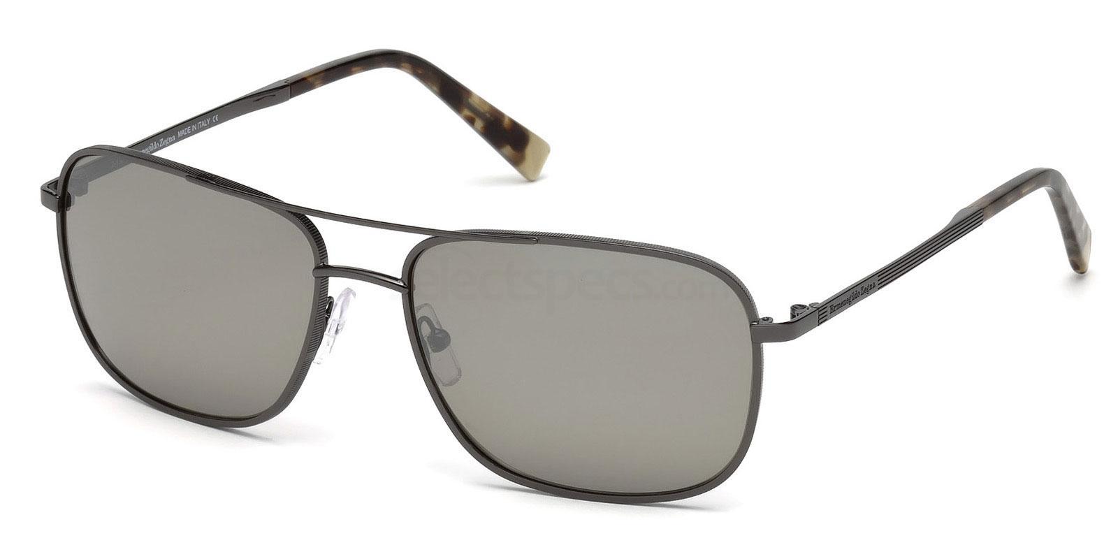 08C EZ0079 Sunglasses, Ermenegildo Zegna