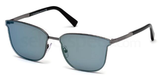 08Q EZ0086 Sunglasses, Ermenegildo Zegna